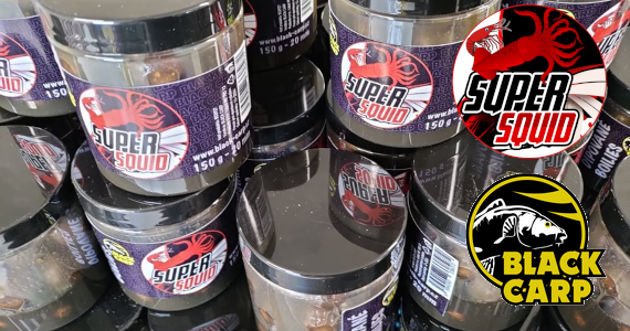 BLACK CARP - Novinka Super Squid