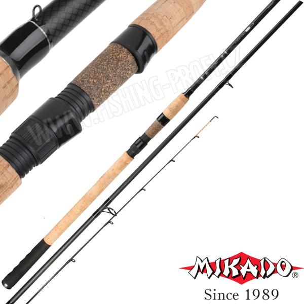 Mikado Black Stone Medium Feeder 360cm / do 120gr.
