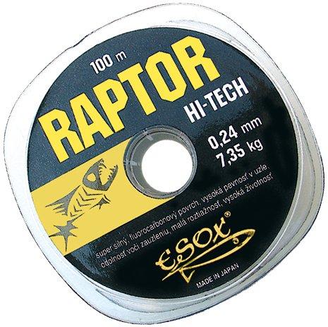 vlasec Esox Raptor Hi-Tech 100m / 0,24mm / 7,35kg