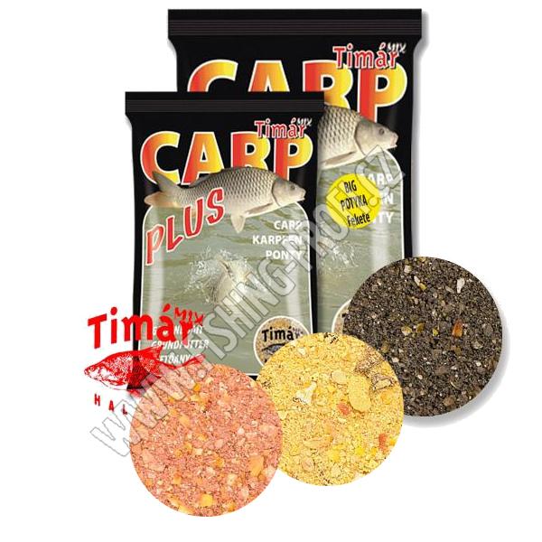 Timár Mix Carp Plus Kapr pelety 3kg - černá