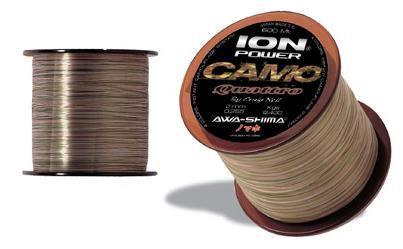 vlasec Awa-Shima Ion Power Camo Quattro 600m / 0,28mm / 9,85kg