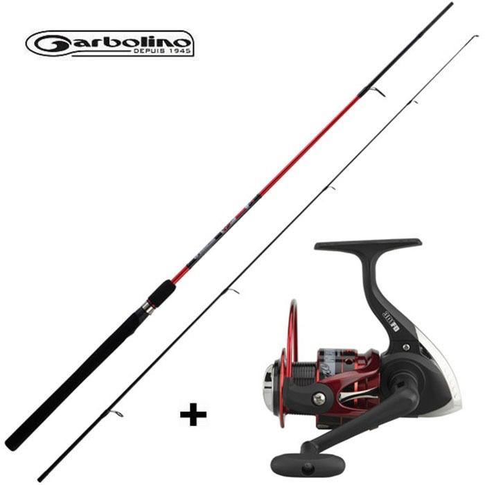 Garbolino Luremax S 180cm/4-16gr. + Luremax 301FD