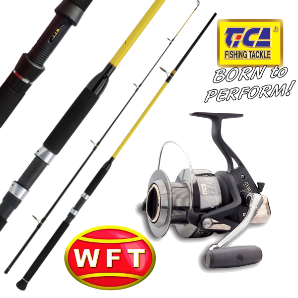 WFT - Prut Never Crack Big Fish 300cm / 700gr. + TICA - Naviják Cybernetic GG100