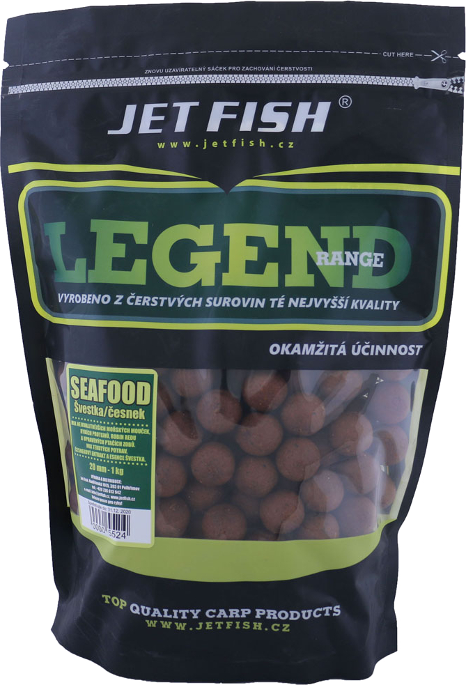 JET FISH - Boilies Legend Range 1kg / 20mm / CHILLI TUNA