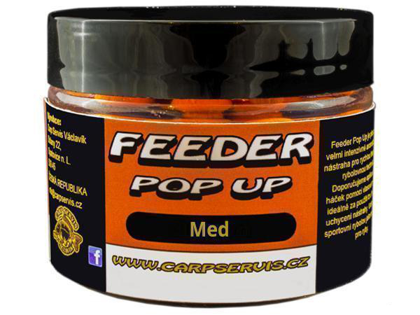 CARP SERVIS VÁCLAVÍK - Feeder Pop Up 30g / 9mm / SLUNEČNICE