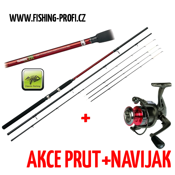 Giants Fishing CLX Feeder Medium 12ft + SPX3000