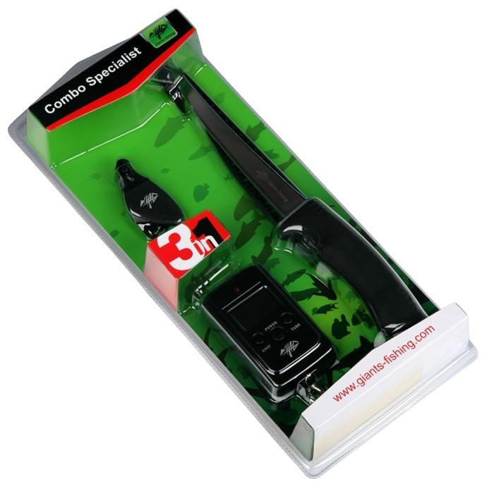 filetovací set Giants Fishing Combo Specialist 3in1 (nůž, váha a cvakátko)