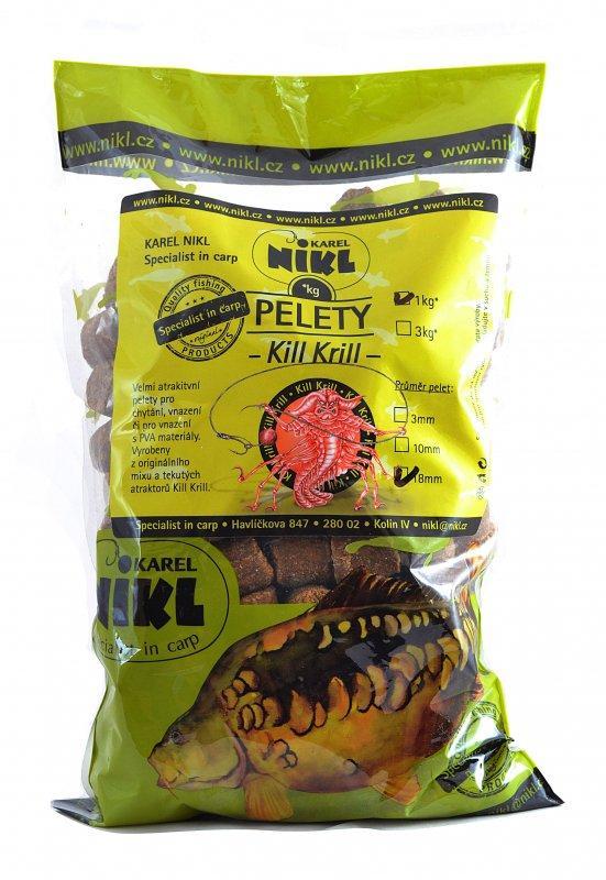 pelety Karel Nikl Pelety Kill Krill 3kg