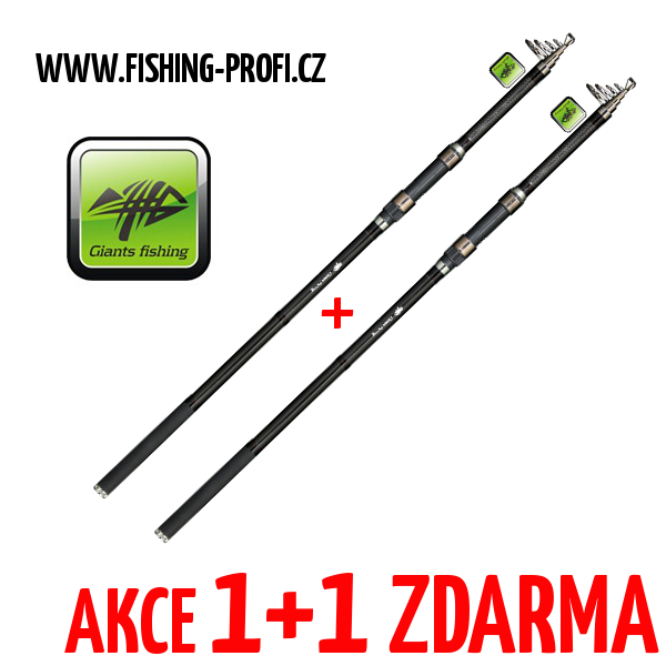 AKCE 1+1 - Giants Fishing Deluxe TeleCarp 360cm / 3lbs.