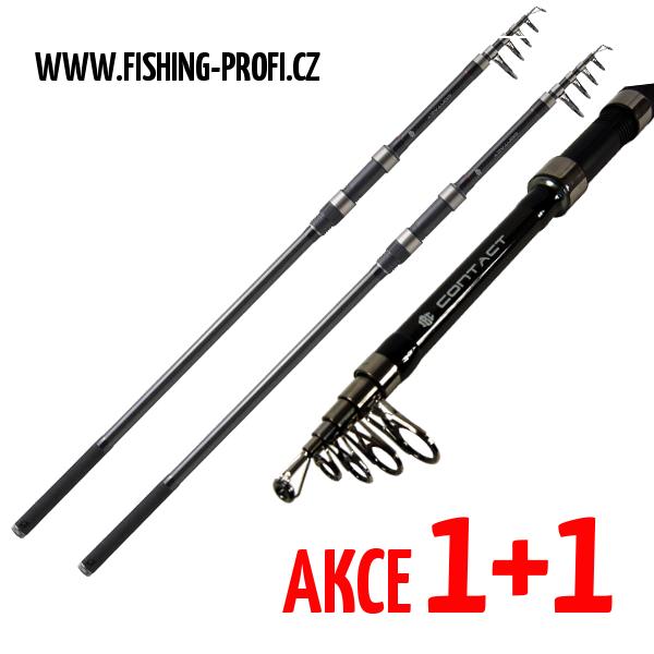 AKCE 1+1 - JRC Contact LR Tele 390cm / 3lbs