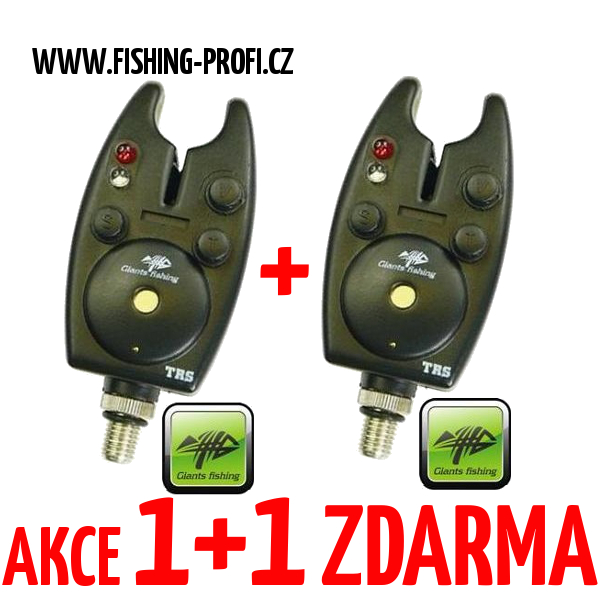 AKCE 1+1 Giants Fishing Bite Alarm TRS
