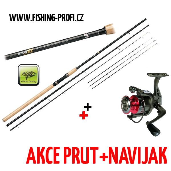 Giants Fishing Fluent Feeder XT 12ft + SPX3000