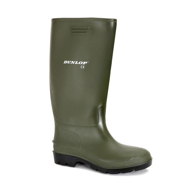 holínky Dunlop Pricemastor zelené (vel. 35-47)