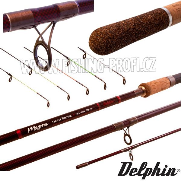Delphin Magma Light Feeder 360cm / 90gr.