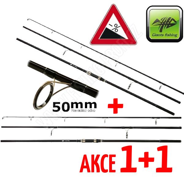 AKCE 1+1 - Giants Fishing Distant Carp MX50 360cm / 3,00lbs / 3-díl