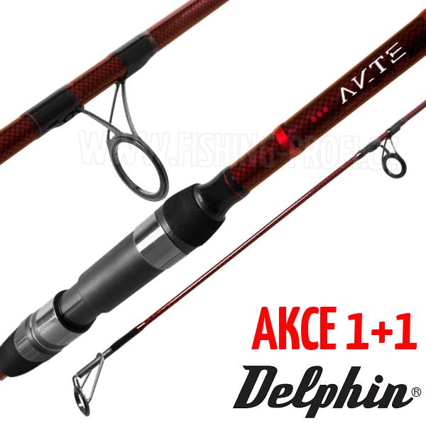 AKCE 1+1 - Delphin Etna Carp 390cm / 3lbs / 3-díl