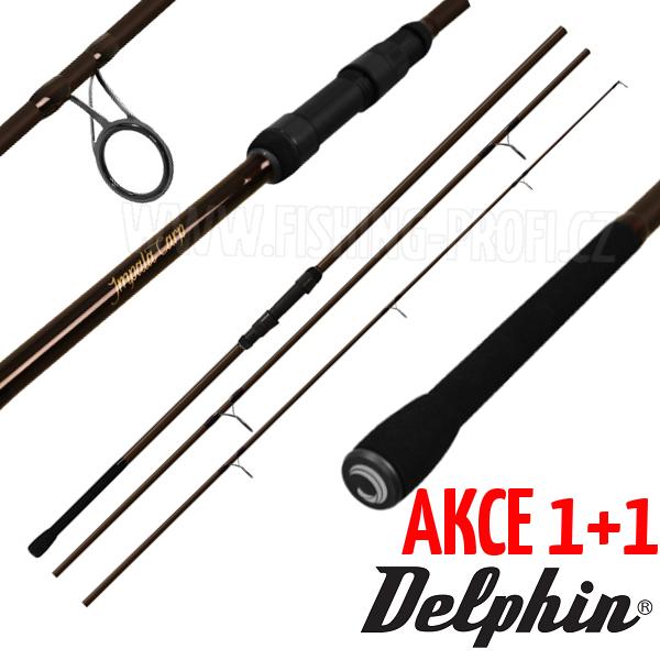 AKCE 1+1 - Delphin Impala Carp 360cm / 3lbs / 3-díl