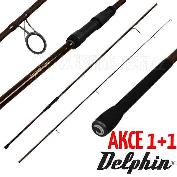 AKCE 1+1 - Delphin Impala Carp 360cm / 3lbs / 2-díl