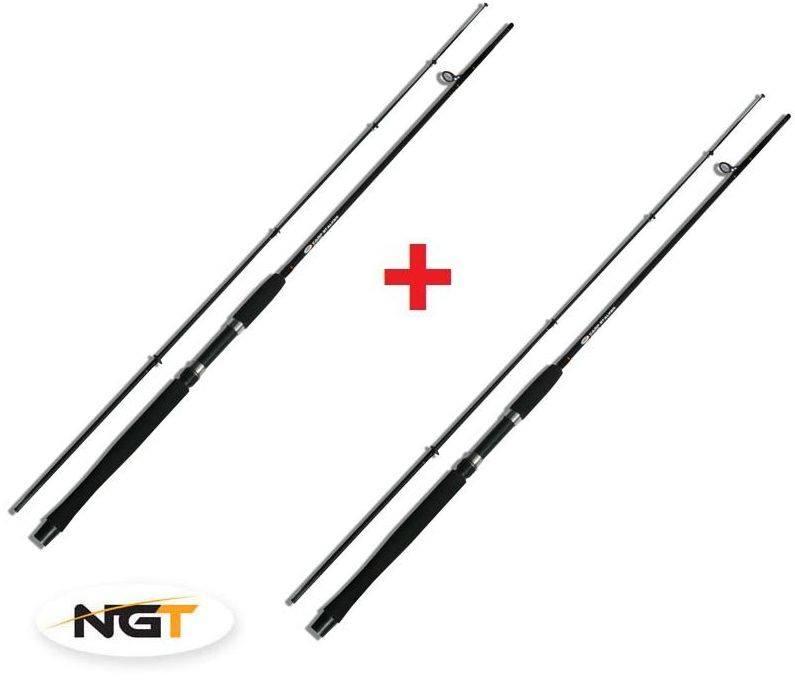 AKCE 1+1 - NGT Carp Stalker Rod 8ft 240cm / 2,00 lbs / 2-díl