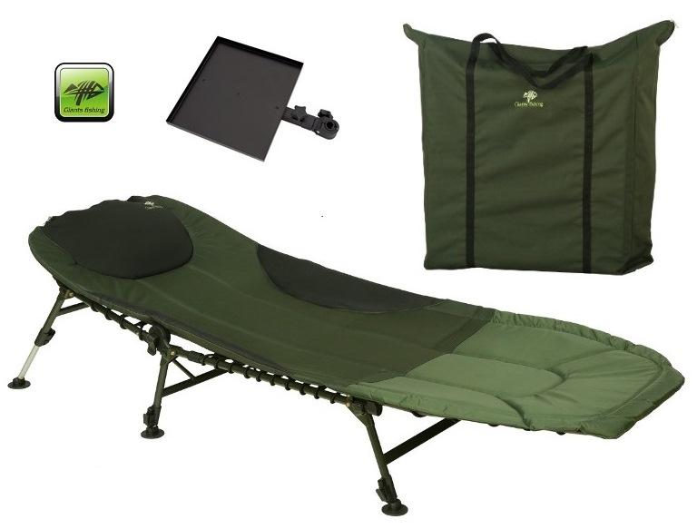 lehátko Giants Fishing Bedchair FLX 6Leg with Table/Bag