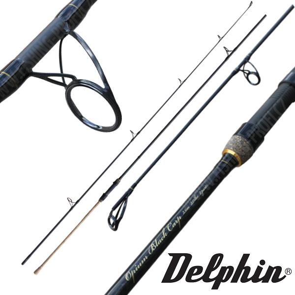 Delphin Opium Black Carp 360cm / 3lbs. / 2-díl