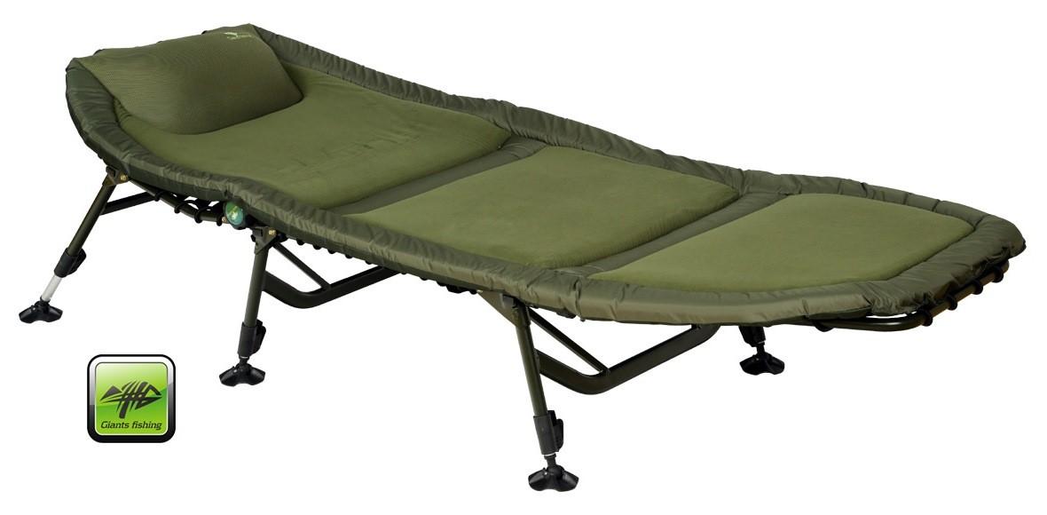 lehátko Giants Fishing Bedchair Fleece SPX 6Leg