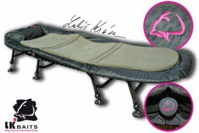lehátko LK Baits Camo De-Luxe Bedchair
