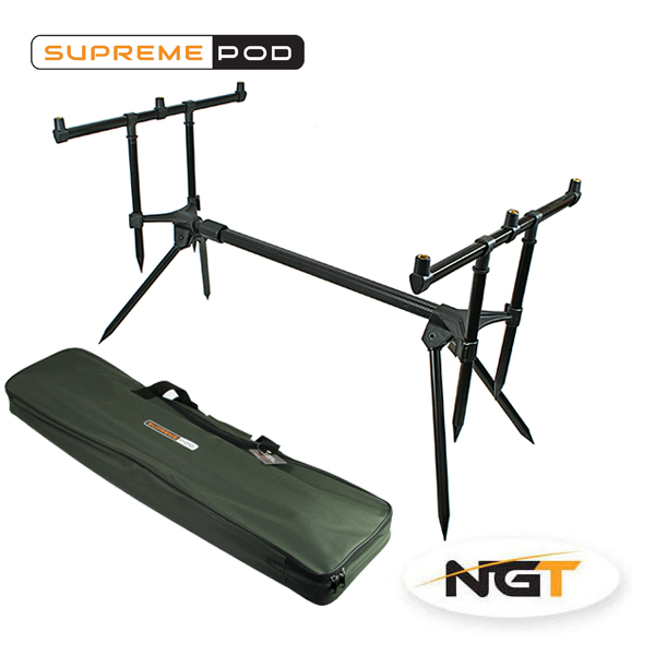 stojan na pruty NGT Supreme Rod Pod