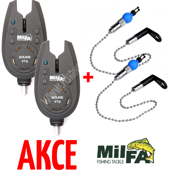 2ks Milfa Sound VTS + 2ks řetízkový swinger Milfa Swinging Detector