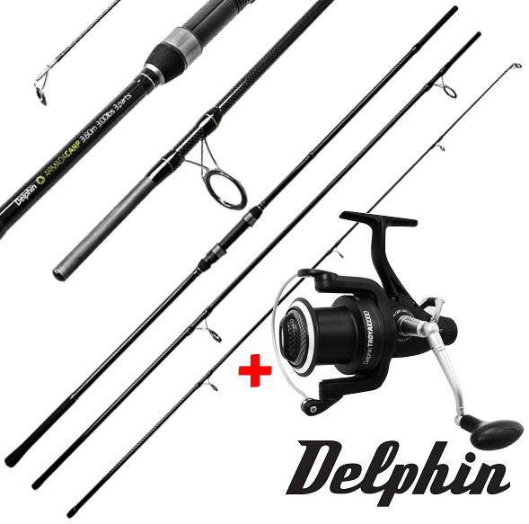 Delphin Armada Carp 360cm/ 3lbs. + Delphin Troya 10000