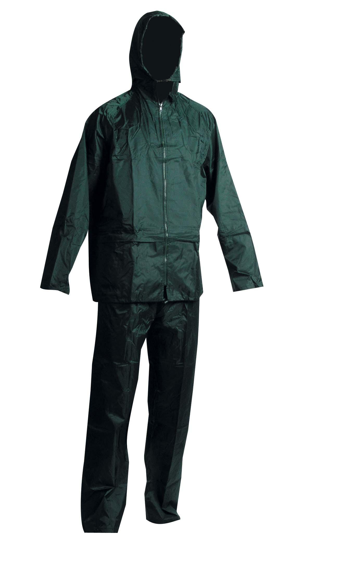 nepromokavé oblek Červa Carina zelený, s přelepenými švy