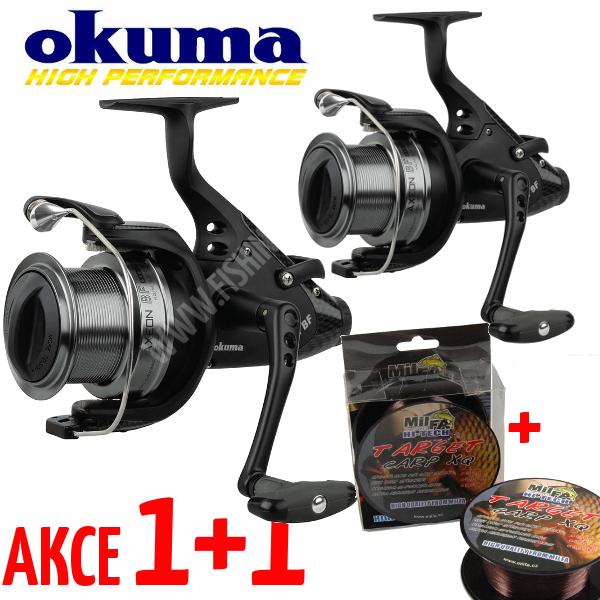 AKCE 1+1 - Okuma Axion BF AXB-560 + vlasec 600m 0,28mm ZDARMA