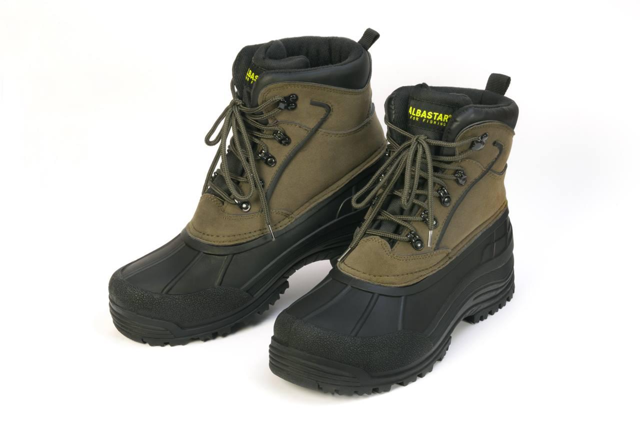 zimní kotníková obuv Albastar zeleno-černá vel.45