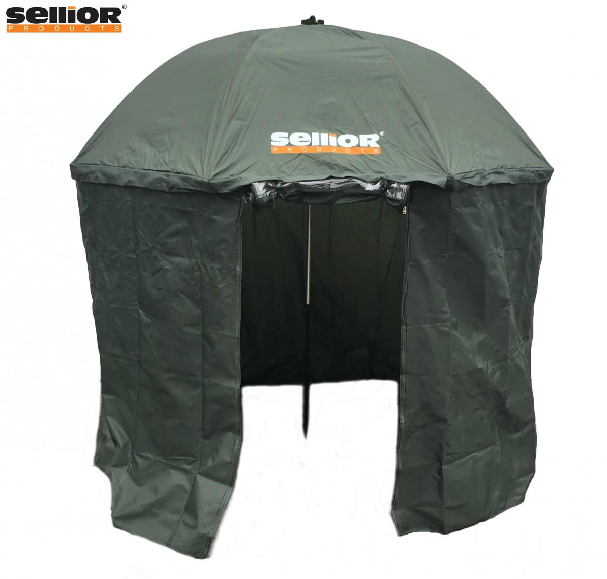 deštník s bočnicí Sellior Element Full Cover 250