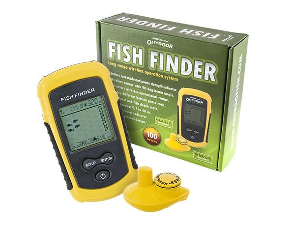 nahazovací echolot ET Fish Finder