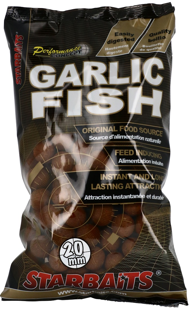 STARBAITS - Boilies Garlic Fish 20mm / 1kg