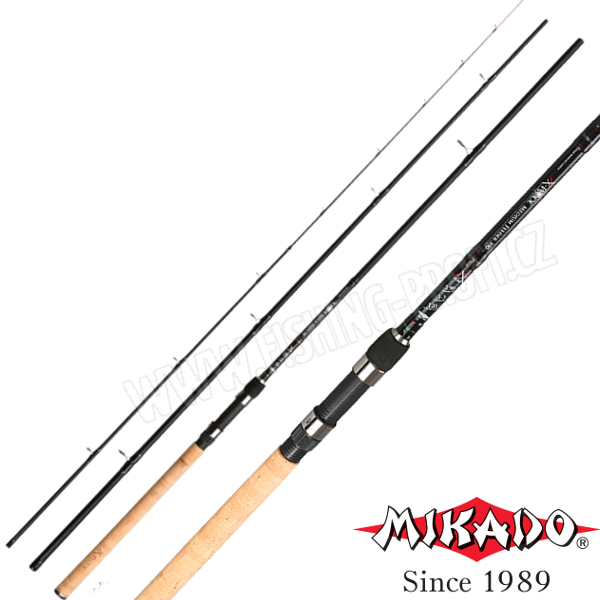 MIKADO - Prut X-Plode Medium Feeder 330cm / do 120gr.