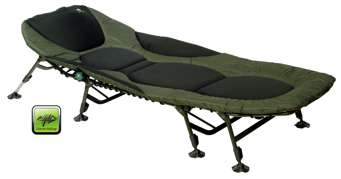 GIANTS FISHING - Lehátko FLX Plus 8Leg Bedchair