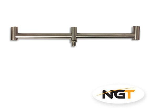 hrazda NGT Buzz Bar Stainless Steel - 3 Rod