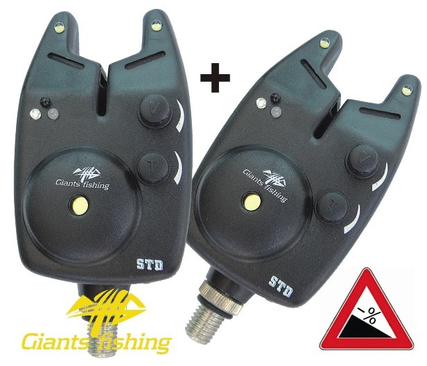 AKCE 1+1 GIANTS FISHING - Signalizátor Bite Alarm STD