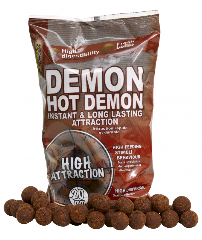 STARBAITS - Boilies Hot Demon 20mm / 1kg