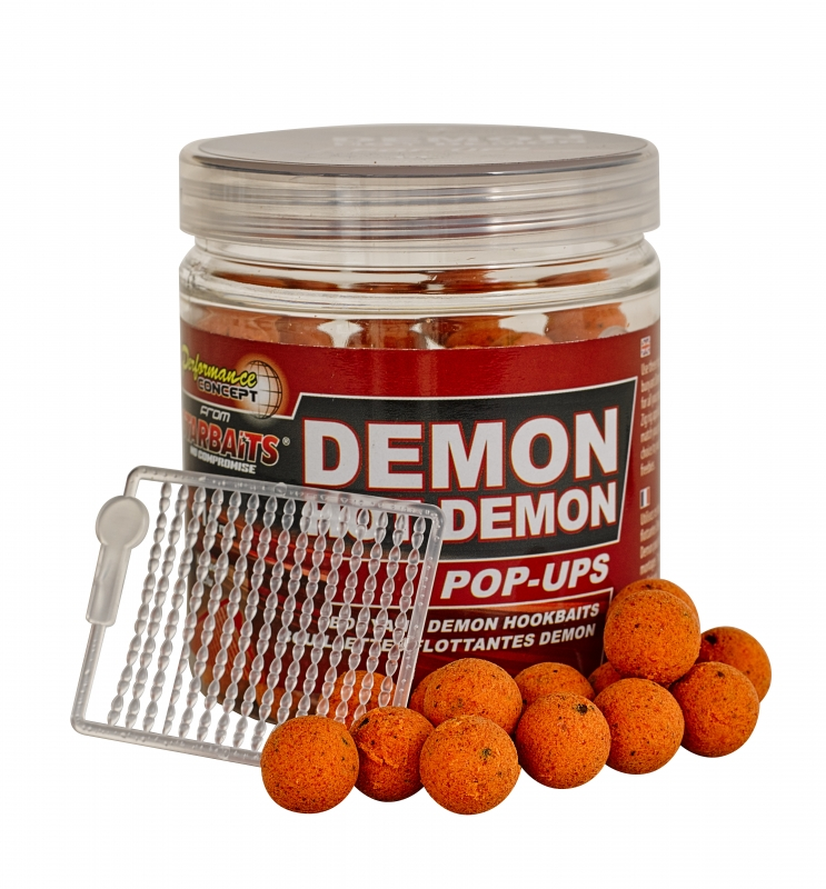 STARBAITS - Plovoucí boilies Hot Demon 14mm / 80gr.