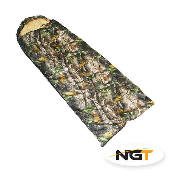 spací pytel NGT Camo Sleeping Bag