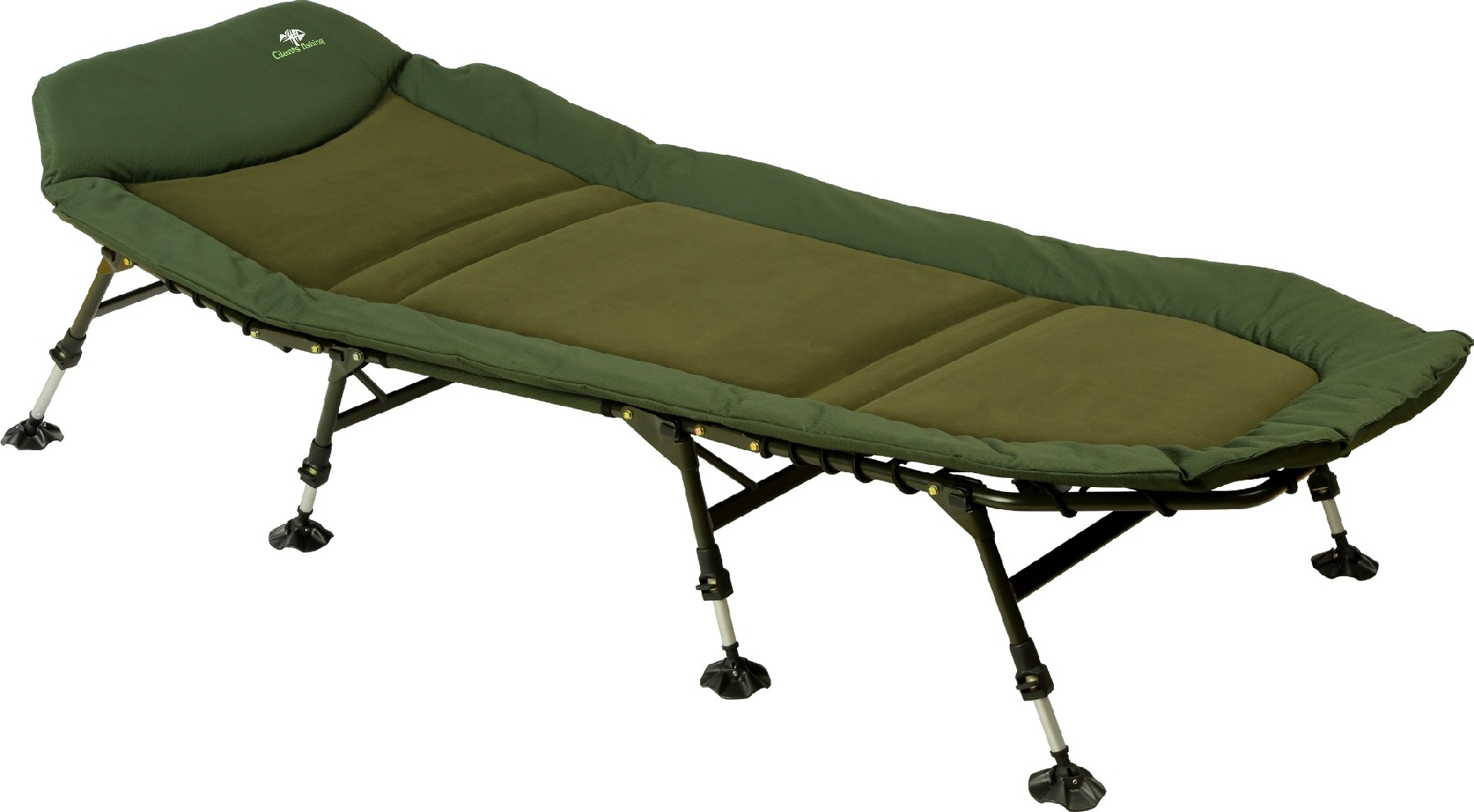 GIANTS FISHING - Lehátko Bedchair Flat Fleece XL 8Leg