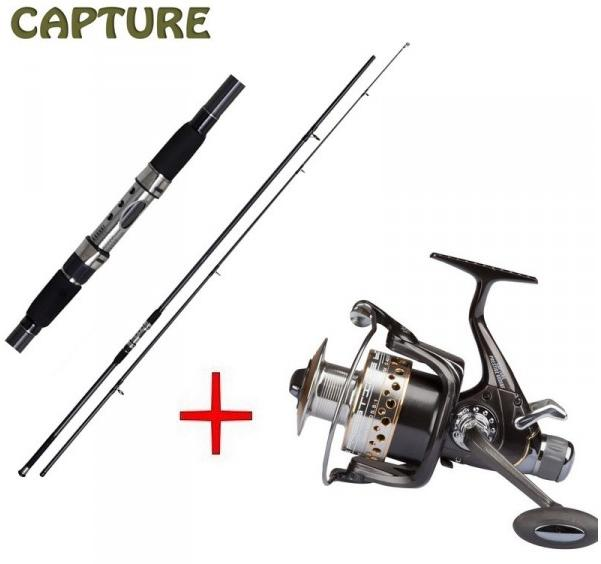 JAF Capture Carp Prestige 12ft 2-díl  + Capture Prestige 600XBF