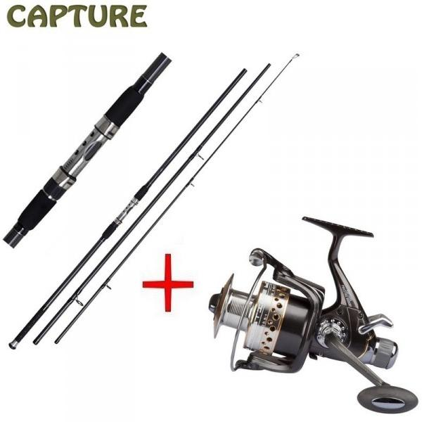 JAF Capture Carp Prestige 12ft 3-díl  + Capture Prestige 600XBF