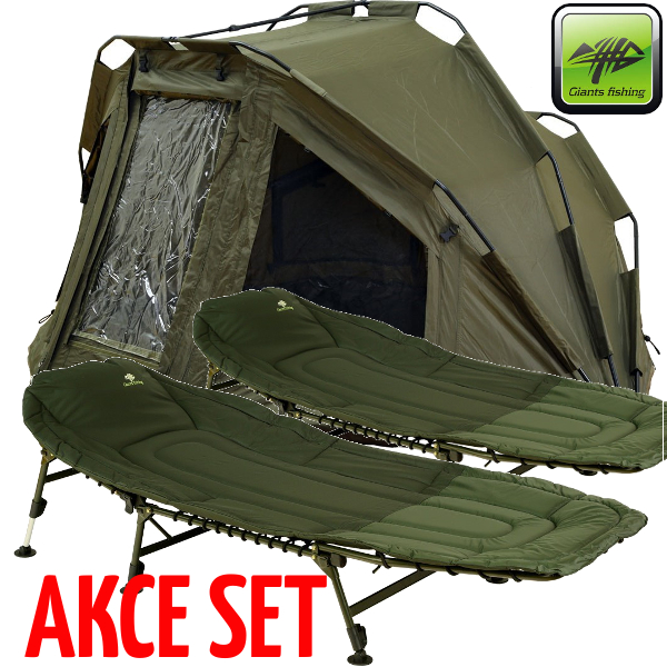 GIANTS FISHING - Bivak Specialist XT Bivvy 2man + 2ks lehátek Specialist 6leg