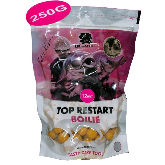 LK BAITS - Boilies Top ReStart Boilies 250gr. / 18mm / World Record Carp Corn