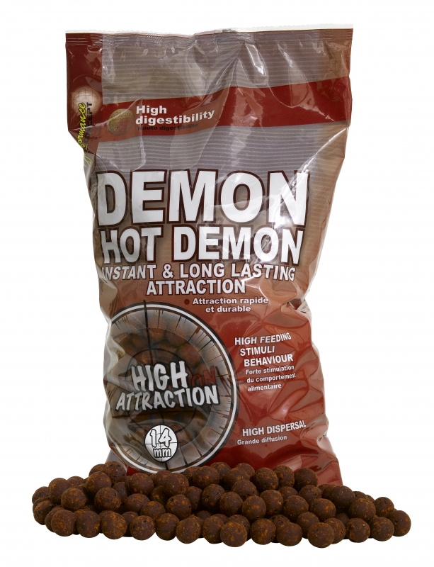 STARBAITS - Boilies Hot Demon 14mm / 2,5kg
