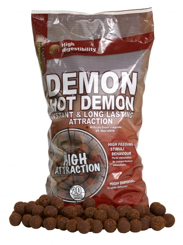 STARBAITS - Boilies Hot Demon 20mm / 2,5kg